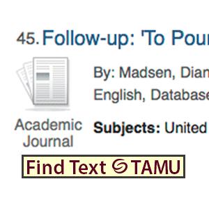 Texas A Amp M University Libraries